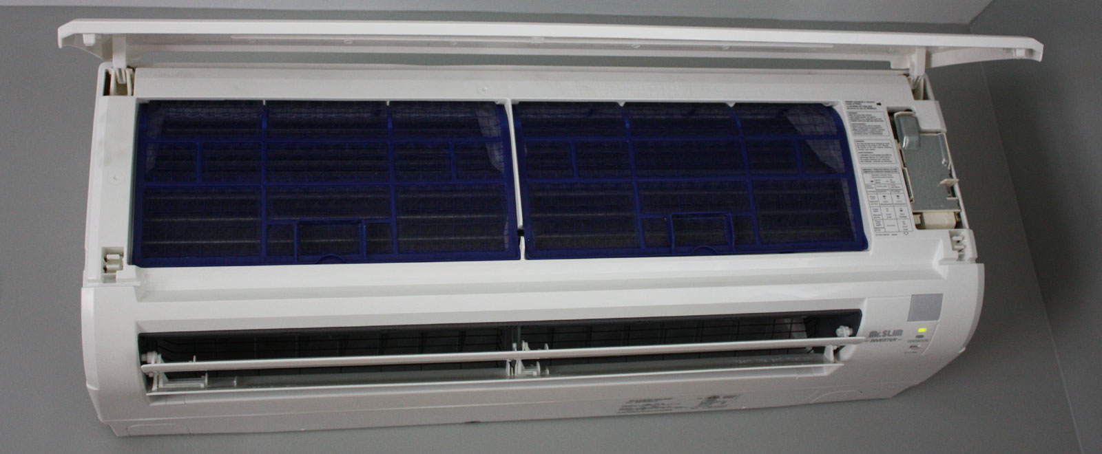 1600w Room Mini Split 1600w Mitsubishi Ductless HVAC Systems Installed By  Williamsburg HVAC ...
