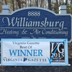 Williamsburg Heating & Air Conditioning - 2016 Winner of the Best in Williamsburg