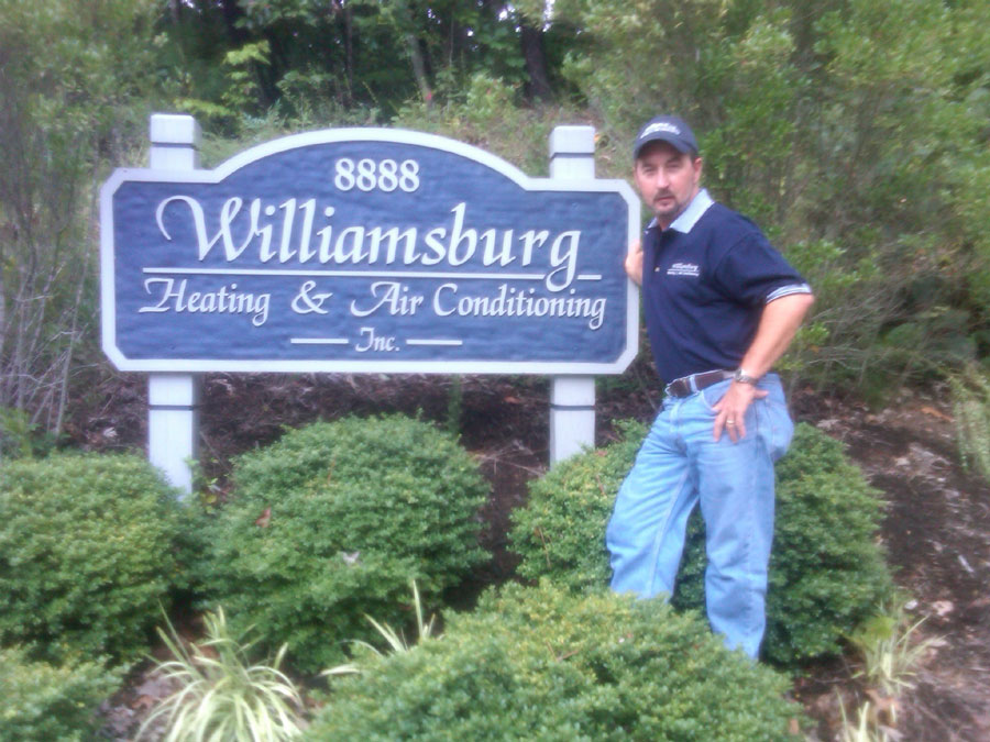Williamsburg Heating & Air Conditioning - Brian Johnson Owner
