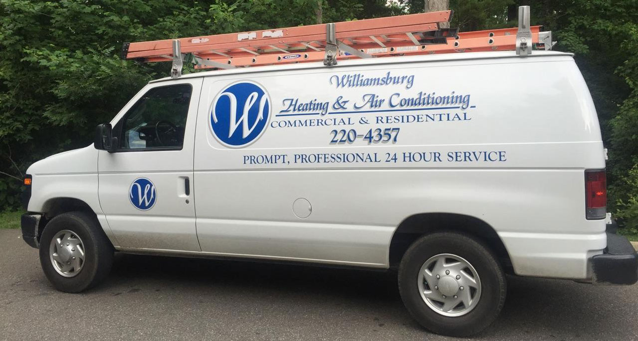 Call Williamsburg Heating & Air Conditioning for HVAC Repair & Installation