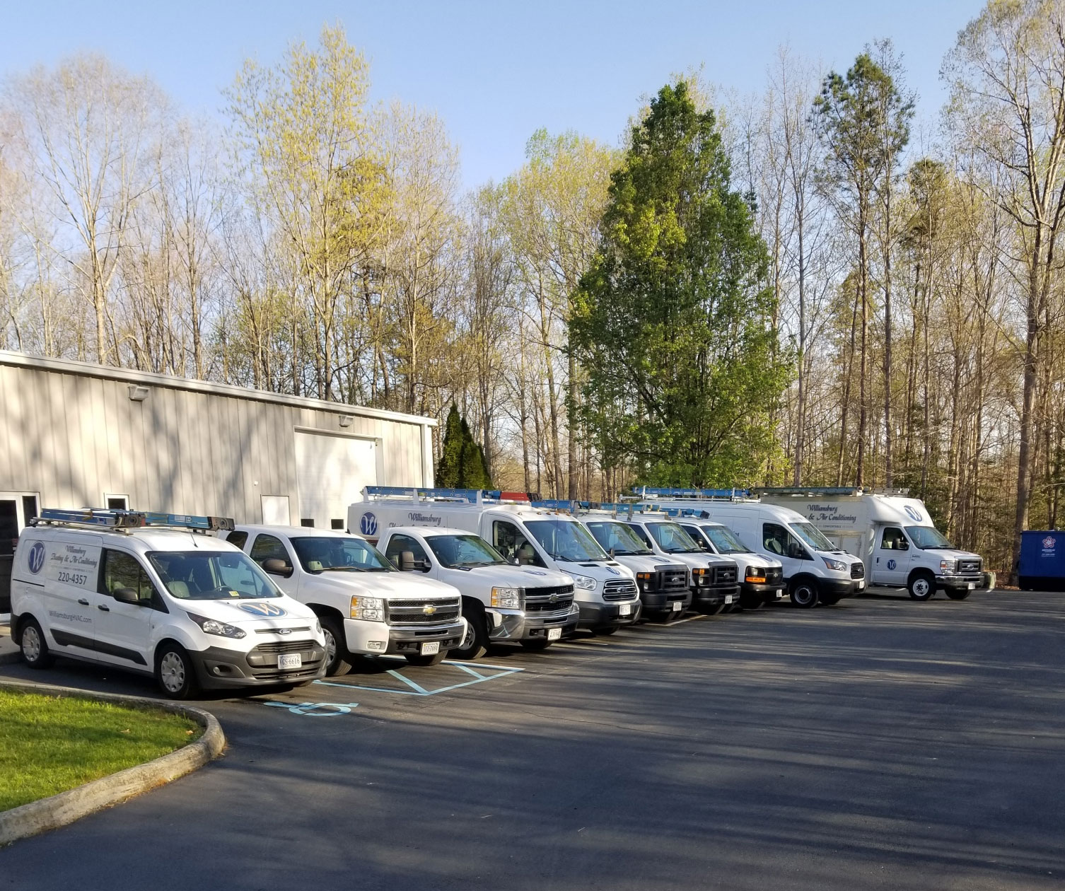 Williamsburg Heating & Air Conditioning Truck Fleet